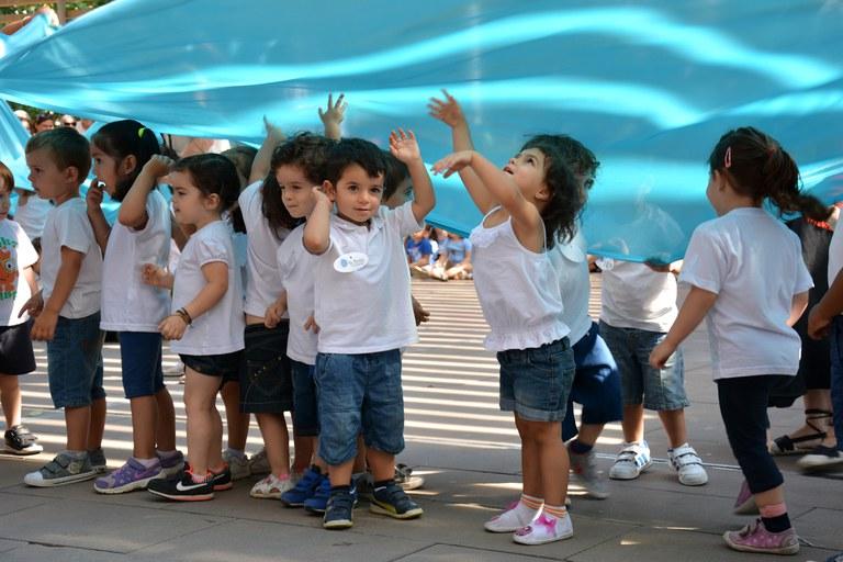 Niños de la guardería La Bruna (foto: Localpres)