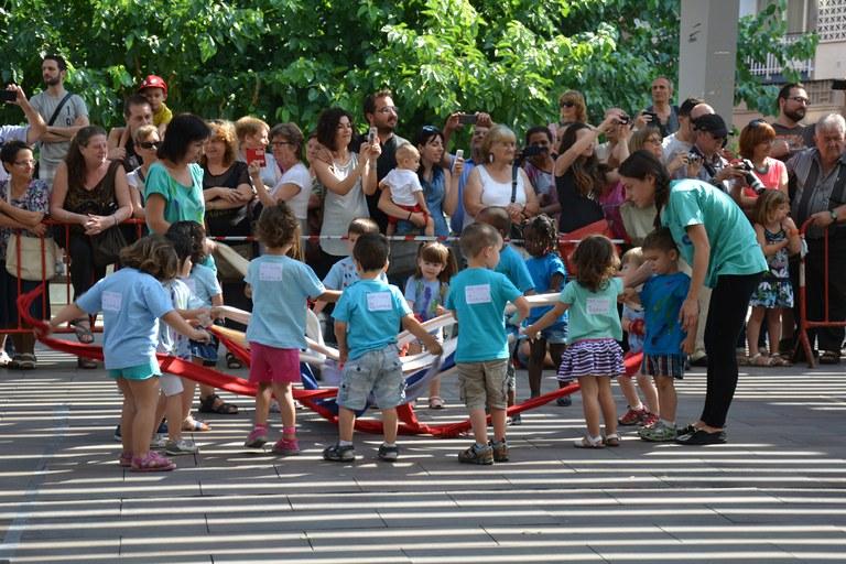 Niños de la guardería La Lluna (foto: Localpres)
