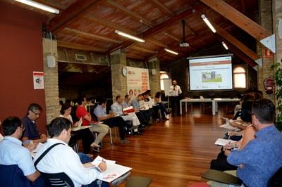 Este martes, la Masía de Can Serra ha acogido una nueva sesión de grupo de la Xarxa Rubí Empresa.