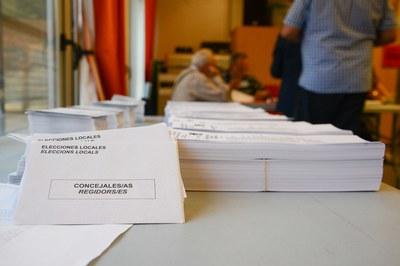 Aparte de escoger a los concejales y concejalas, el electorado también debe elegir a los representantes en el Parlamento europeo (foto: Ayuntamiento).