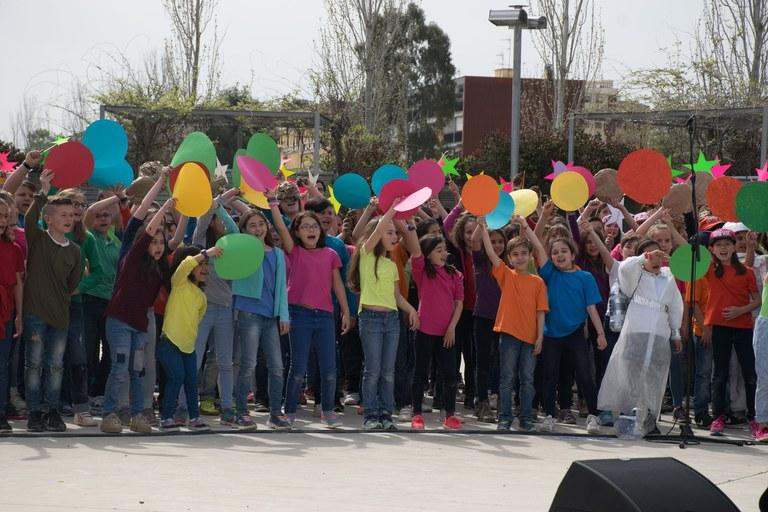 La actuación se ha celebrado en el Castell (Foto: Localpres)