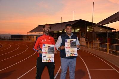 Juan López y Vicente Blasco, durante la presentación de la 29ª edición de la carrera.