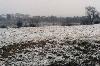 Nieve en Sant Muç