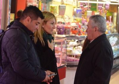 El Mercado ha sido una de paradas d'Alcaldia als Barris (Localpres) .