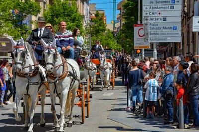 Caballos y carros tomarán el centro de Rubí (foto: Ayuntamiento de Rubí - Localpres).