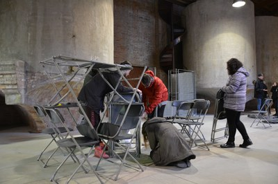 El taller se ha llevado a cabo en la sala de Les Tines del Celler.