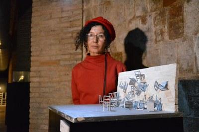 La artista Mercè Ribera
