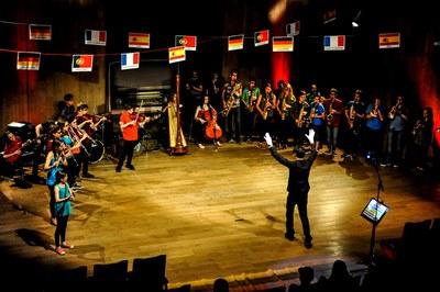 La propuesta artística conjunta se ha representado en el Conservatorio de Clichy (foto: Ville de Clichy).
