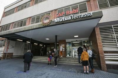 El CAP Mutua dispone actualmente de un Punto de Atención Continuada mejorado (foto: Ayuntamiento de Rubí - Lali Puig).