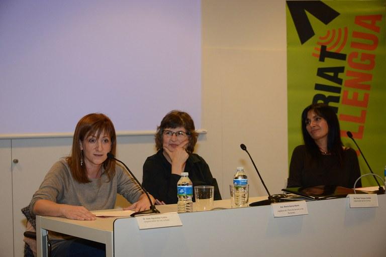 La concejala Marta García, durante la presentación (foto: Localpres)