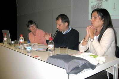 El concejal Sergi Garcia ha reivindicado el Voluntariat per la Llengua (foto: Servei Local de Català).