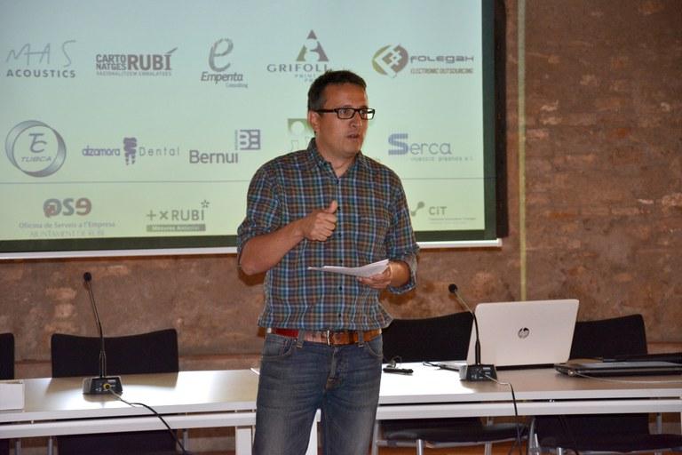 El concejal Rafael Güeto
