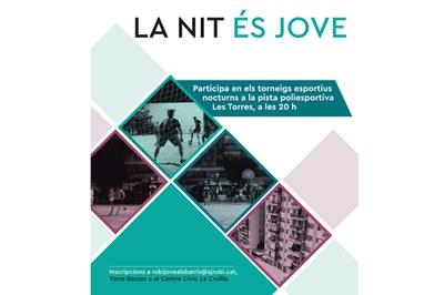 """Las inscripciones para participar en """"La Nit és Jove"""" ya están abiertas."""