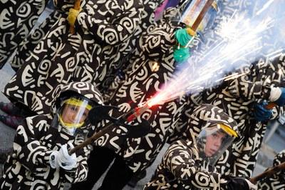 El fuego será uno de los elementos destacados de la fiesta (foto: Localpres).
