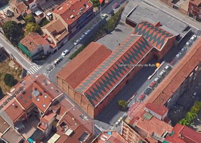 Los trabajos afectaran el entorno del Celler (Foto: Google Maps).