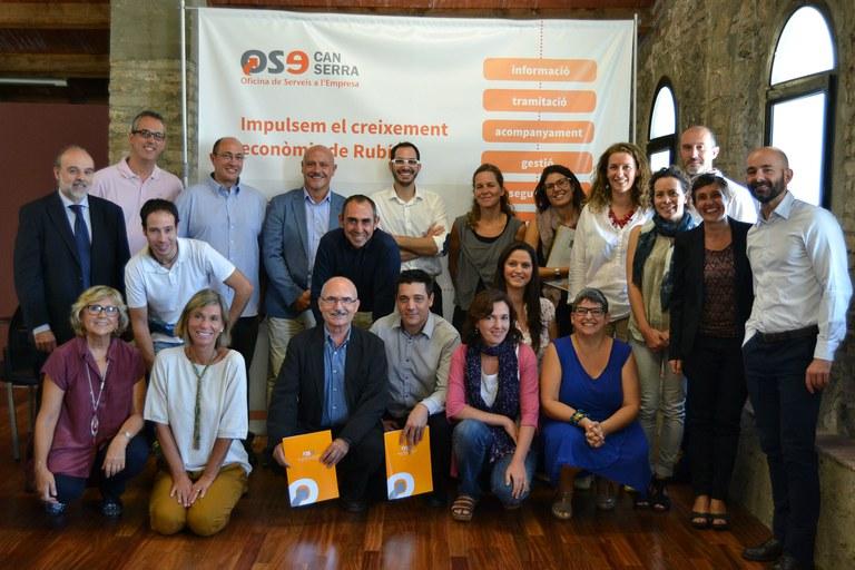 Participantes en la segunda sesión grupal