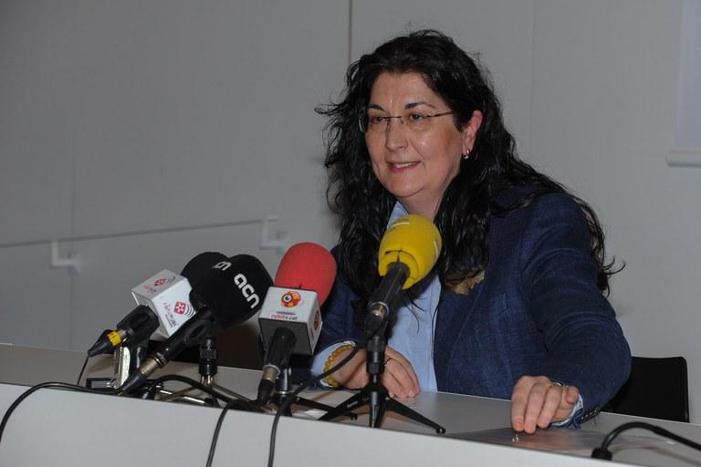Carme García en la rueda de prensa (foto: Localpres)