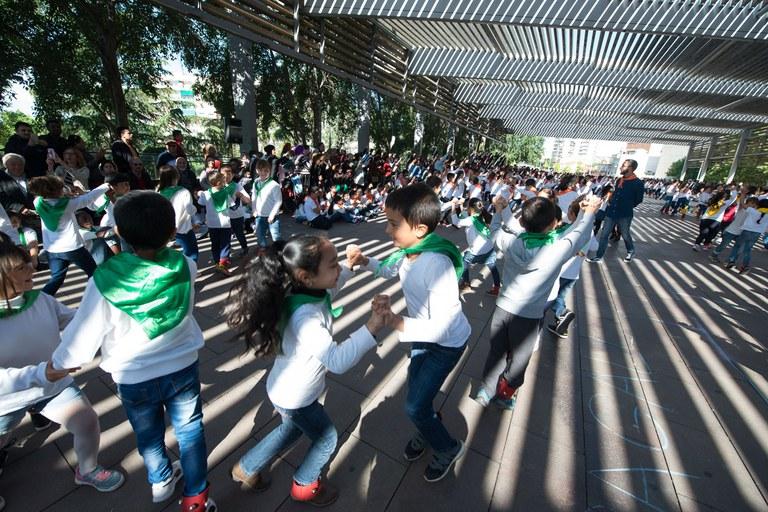Baile de las escuelas (foto: Localpres)