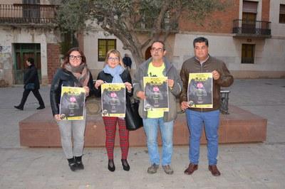 Concejales y miembros del CER, durante la presentación de la Travesía (foto: Ayuntamiento de Rubí).