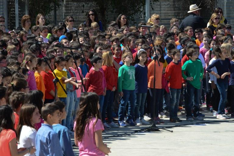 Cantata escolar (foto: Localpres)