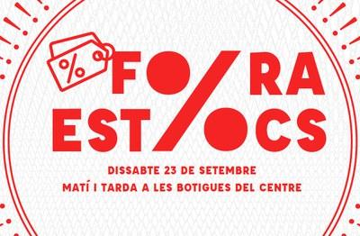 Comerç Rubí propone un nuevo sábado de 'Fora Estocs'.