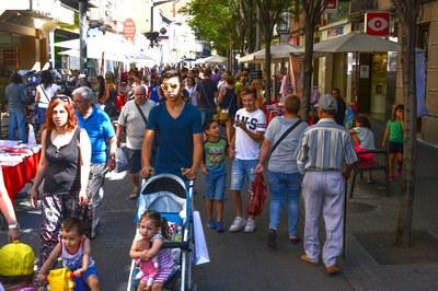 Las calles se han llenado de rubinenses (foto: Localpres).