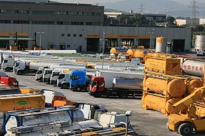 La fuga ha tenido lugar en la empresa Parking Service, ubicada en el polígono Ca n'Estapé de Castellbisbal (foto: Parking Service).
