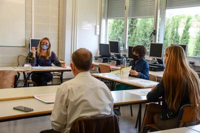 Sesión de este miércoles en el edificio Rubí Forma (foto: Ayuntamiento de Rubí - Localpres).