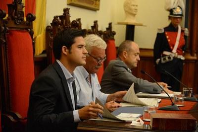 Víctor Puig (CDC) ha formado parte de la Mesa de Edad (foto: Localpres)