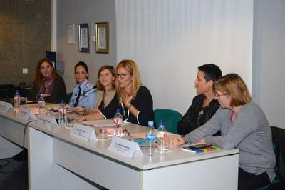 La alcaldesa ha asistido a la conferencia para hacer balance de esta ley impulsada por el gobierno de José Luis Rodríguez Zapatero (foto: Localpres).