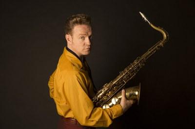 """Dani Nel·lo traerá su espectáculo """"Los saxofonistas salvajes"""" (Foto: Alberto Prado Larburo)."""