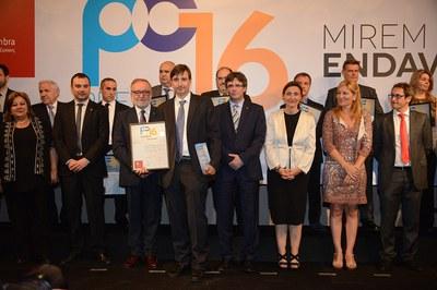Vicente Torns ha sido galardonada en el apartado de iniciativa empresarial (foto: Localpres)
