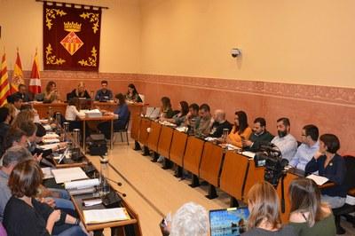 El Pleno municipal se ha celebrado este jueves por la tarde (foto: Ayuntamiento).