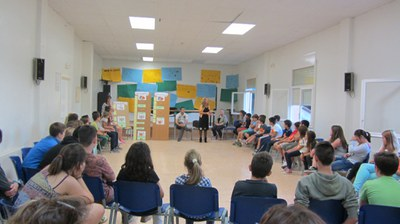 Chicos y chicas de varios municipios han participado este fin de semana en unas jornadas en Cabrera de Mar.