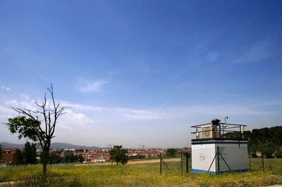 En Rubí, la cabina de vigilancia y previsión de la contaminación atmosférica está situada en Ca n'Oriol (foto: Ramon Vilalta).