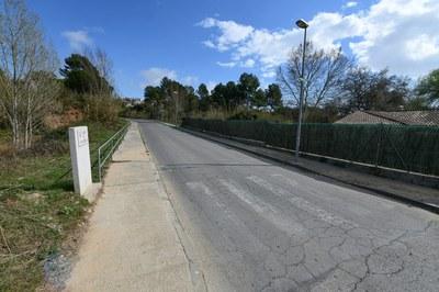 La actuación se centrará en el tramo de la calle Can Bosc entre la av. Can Tapis y la calle Avellaners (foto: Ayuntamiento ─ Localpres).