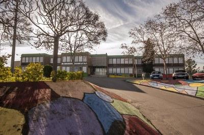 La escuela Joan Maragall en una imagen de archivo (foto: Ayuntamiento de Rubí – César Font).