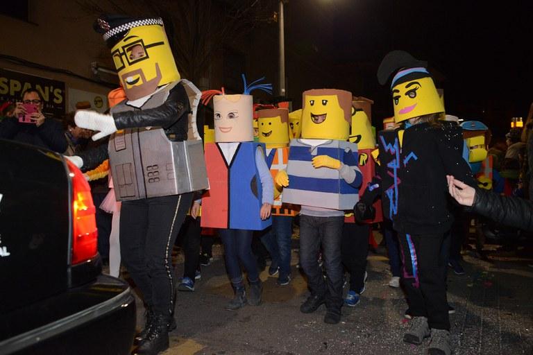 """Comparsa """"Lego"""" (foto: Localpres)"""