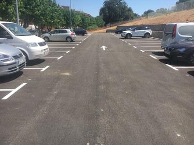 El aparcamiento ha entrado en funcionamiento este jueves.