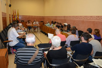 La charla está organizada por el Consejo Municipal de Cooperación de Rubí (foto: Localpres).