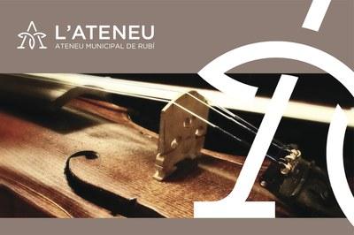 El Ateneu pone en marcha varios ciclos relacionados con la música.
