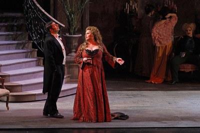 """Estreno de """"Manon Lescaut"""" (foto: A. Bofill)."""