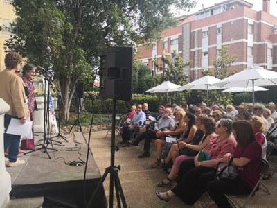 La clausura ha tenido lugar en los jardines del Ateneu (foto: Ayuntamiento de Rubí).