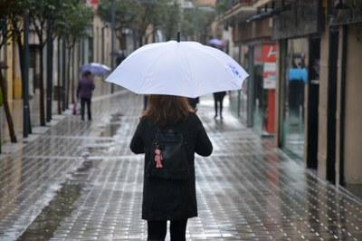 Se esperan lluvias continuadas durante toda la semana.