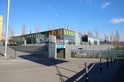 El parking ocupa las plantas subterráneas del Duet Sports (foto: Ayuntamiento de Rubí).