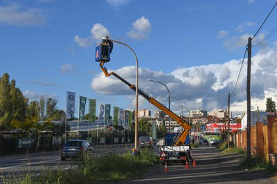 Los trabajos se están llevando a cabo esta semana (foto: Ayuntamiento de Rubí - Localpres).