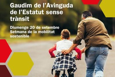 El domingo por la mañana, un tramo de la av. Estatut estará cortado al tráfico (foto: Ayuntamiento de Rubí).