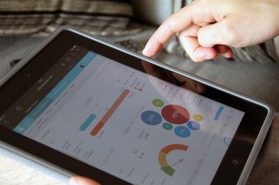 La aplicación de la Comunidad Rubí Brilla permite a los usuarios acceder en cualquier momento a los datos de su consumo.