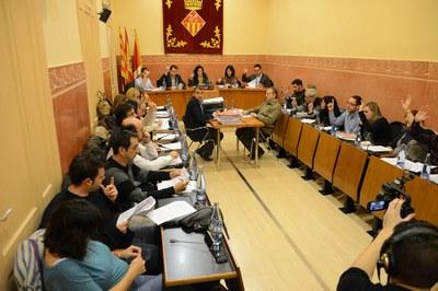 La sesión plenaria de este jueves ha sido una de las más largas del año (foto: Localpres).