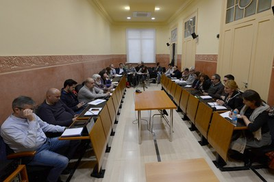 La Mesa de seguimiento de los vertederos se reúne periódicamente para abordar cuestiones relacionadas con estas instalaciones (foto: Localpres).